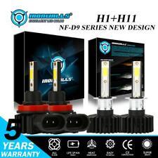4x Bulbs H1 H11 LED Headlight Hi-Lo Beam for Ford Focus 2012-17 Kia Forte Optima