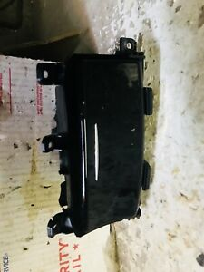 17 18 Infiniti Q60 Ashtray Console Cubby Black