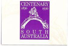 Australia - Stamp Replica card - South Australia Centenary