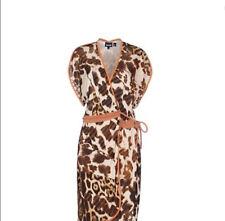 Roberto Cavalli Wrap Dress signed sz M