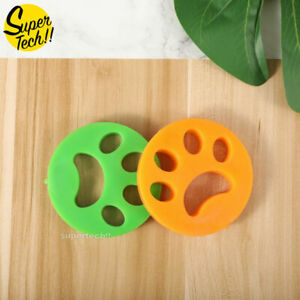 2PCS Pet Hair Remover Cat Fur Dog Hair Lint Catcher from Laundry Washing Machine