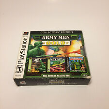 Army Men Gold Collectors' Edition PlayStation 1 PS1 COMPLETE