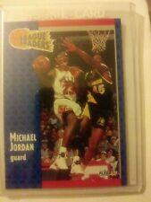 1991-1992 Fleer Basketball Michael Jordan League Leaders/All Star Team Cards