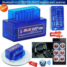Super Mini OBD2 ELM327 V2.1 Bluetooth Voiture Scanner Outil de Scan auto Android