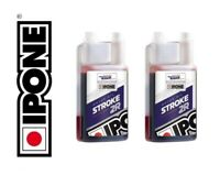 Huile IPONE Stroke 2R 100% Synthetic Ester 2T cross enduro trial vitesse 2L