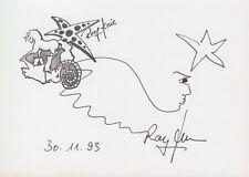 Rolf Genou --- original signé - 6#22a