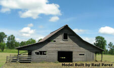 N Scale DeLoney's Barn Laser Cut Kit for Model Railroad Hobby (115)