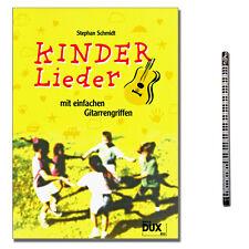Kinderlieder mit einfachen Gitarrengriffen - MusikBl. - DUX853 - 9783934958081