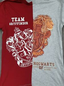 ⚡🧹🦁 HARRY POTTER TEAM GRYFFINDOR HOGWARTS T Shirt Uk10 OFFICIAL Merch