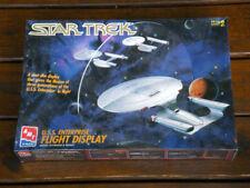 STAR TREK USS Enterprise Flight Display 3Ship Plastic Model Kit 1701 1701A 1701D