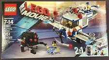 Lego THE MOVIE Flying Flusher 70811 351 pieces Plumber Joe ALFIE Doctor figures