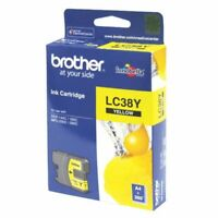 Genuine Brother LC38Y Yellow Ink Cartridge MFC240C DCP165C DCP195C DCP375CW