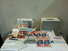 Bernina 1130 Computerized Sewing Machine + Foot Pedal + Case + Extras! Serviced!