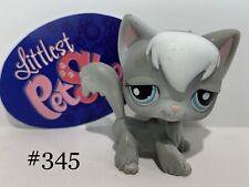 Authentic Littlest Pet Shop - Hasbro Lps - Angora Cat #345