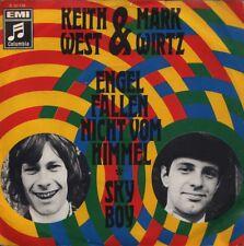 "KEITH WEST & MARK WIRTZ: Engel fallen... (v. rare orig. 1968 German-language 7"")"