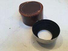 Vintage Cenei Lens Hood In Case