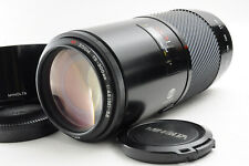 [Excellent] Minolta AF Zoom Macro 75-300mm f/4.5-5.6 For Minolta Sony A READ