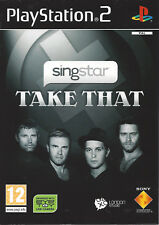 SINGSTAR TAKE THAT for Playstation 2 PS2 - with box and manual - PAL