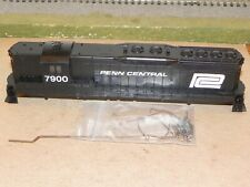 Athearn HO Custom Painted Penn Central SD9 Locomotive Shell w/Handrails