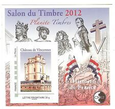 BLOC CNEP N° 61 SALON DU TIMBRE  2012