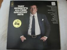 TONY BENNETT'S ALL TIME GREATEST HITS 2X VINYL LP 1972 CBS RECORDS JUST IN TIME