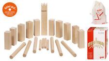 Wikingerspiel KUBB Tischspiel Wikinger Partyspiel Mini-Kubb Wikingerkegeln Holz
