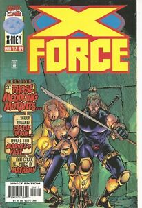 °X-FORCE #64 THE HOUNTING OF CASTLE DOOM° US Marvel 1997