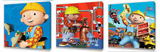 Bob The Builder set of Three Wall / Plaques canvas pictures