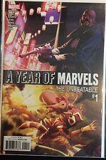 Año del Marvels Insuperable #1 NM- 1 º Dibujo Marvel Comics