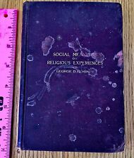 Social Meanings of Religious Experiences by George D. Herron.w FREE SHIPPING