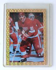 LIMITED EDITION Gold Trimmed Sergei Federov Hockey Card (Serial #3596 of 15,000)