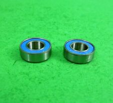 Blue sealed ball bearings 6x12x4mm for Tamiya HPI 1:10 RC etc lot of 2