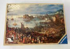 "RARE Puzzle 5000 Jigsaw Ravensburger, ""THE FISH MARKET"" Brueghel (1982)"