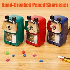 Spitzmaschine Spitzer Bleistiftspitzer für Farbstifte Anspitzer Kurbel