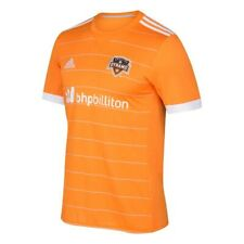 Houston Dynamo MLS Adidas Men's Orange Official Climacool Team Replica Jersey