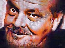 JACK NICHOLSON EASY RIDER art print poster pittura ad olio lff0065