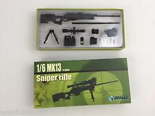 """MK13 Sniper Riffle by ZY Toys 1/6th Scale for 12"""" Action Figure ZY-8034B"""