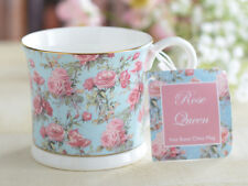 ROSE QUEEN Fine Bone China FOOTED PALACE MUG