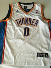 Adidas Authentic Oklahoma City Thunder Russell Westbrook White Jersey - 3XL