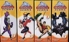 DC Heroclix Icons Booster Packs lot X4 MINT