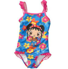 Ni Hao Kai Lan One Piece Swimsuit Swimwear Girl Size 7/8