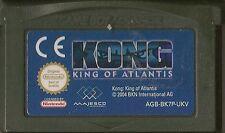 NINTENDO GAMEBOY ADVANCE KONG KING OF ATLANTIS GBA GAME