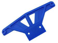 RPM Wide Front Bumper for Traxxas Rustler Stampede or Nitro Sport # 81165 Blue