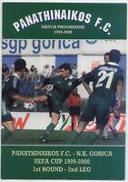 EC III 99/00 Panathinaikos Athen - N.K. Gorica