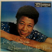 Ella Fitzgerald sings the Rogers and Hart Song Book Verve LP  HI FI # MGV-4022