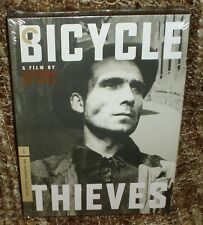 BICYCLE THIEVES DVD, THE CRITERION COLLECTION, NEW AND SEALED, A CLASSIC MOVIE