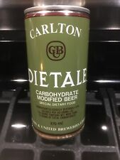 New listing Carlton Diet Ale Beer �Can Bottom Opened C/S See Photo'S Australia 🇦🇺 Sweet
