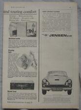 1964 Jensen CV-8 Original advert