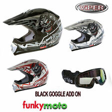 Unisex Youth Graphic Viper Helmets