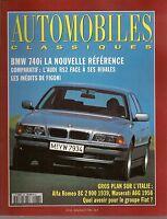 AUTOMOBILES CLASSIQUES 62 ALFA ROMEO 8C MASERATI A6G 2000 ZAGATO BMW 740i FIGONI